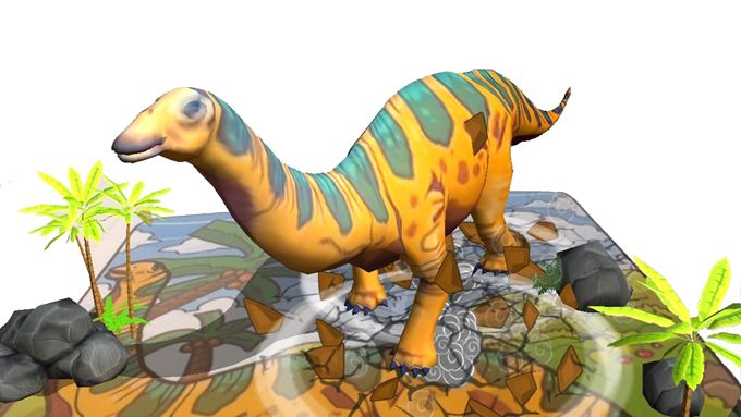 恐龍-3D擴增實境互動著色書