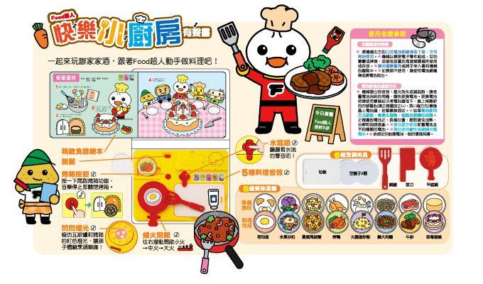 快樂小廚房有聲書-FOOD超人P3