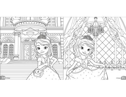 小公主苏菲亚12色色铅笔轻松画(ds006e)