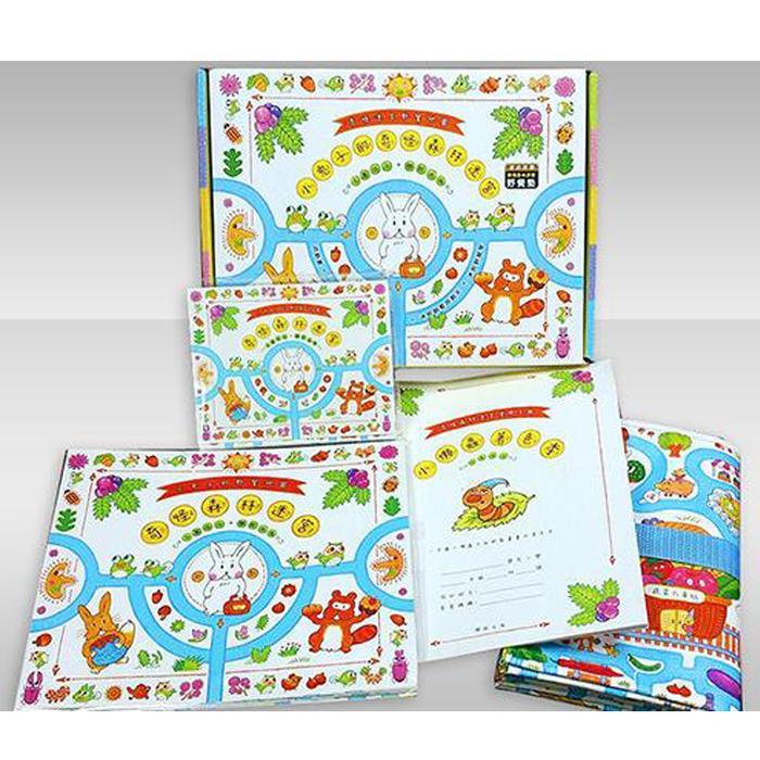 小兔子的奇怪森林迷宮(書盒+迷宮摺頁地圖、卡片、手冊、野餐墊)