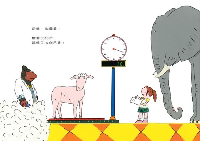 帮动物量身高和体重的时候,又会发生什麼意想不到的事呢?