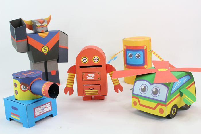 機器人-每天一個勞作遊戲