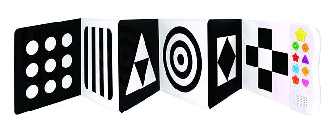 黑白遊戲-0歲視覺音樂書