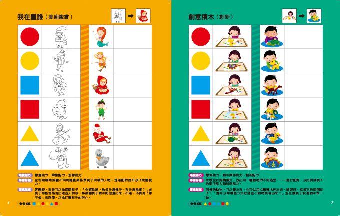 生活邏輯-「邏輯腦」幼兒經典全腦思維開發遊戲
