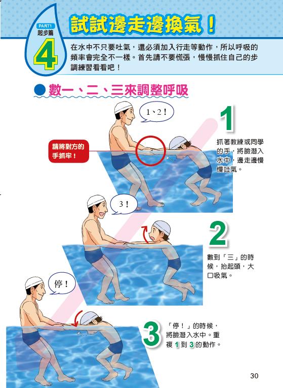 看漫畫輕鬆學游泳!游泳漫畫