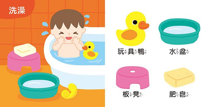 Baby第一套學習小書(共四冊)
