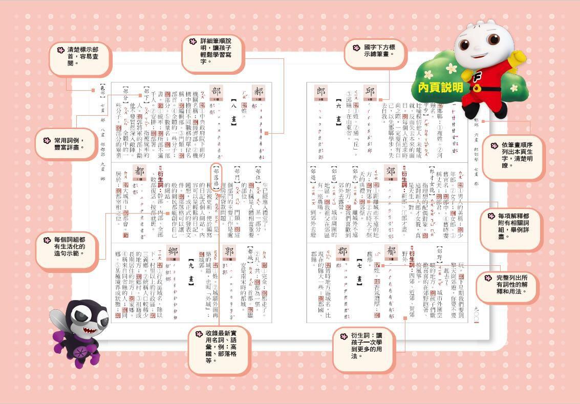 新編學生國語辭典*新版*(32K)-FOOD超人