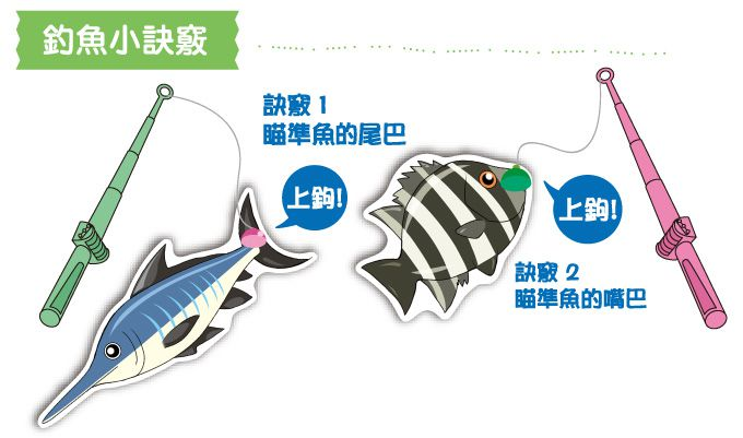 趣味釣魚磁鐵遊戲-FOOD超人