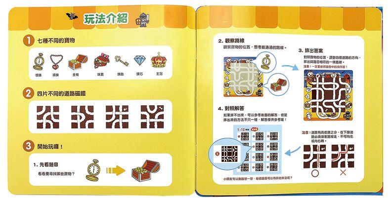 Food超人尋寶大冒險磁鐵遊戲