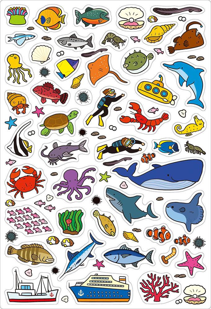 海洋世界-FOOD超人趣味磁鐵遊戲書