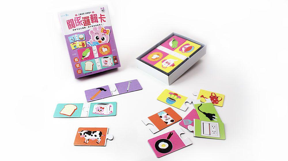 關係邏輯卡-企鵝派對遊戲圖卡