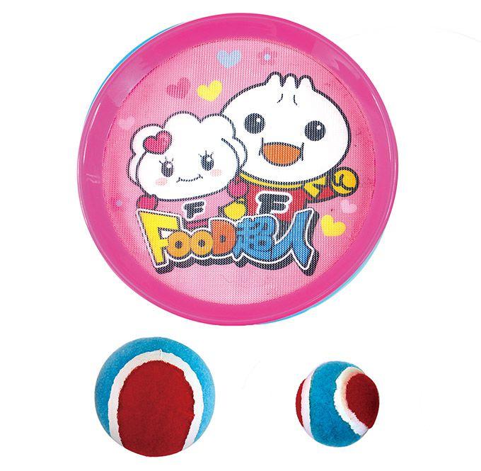 FOOD超人親子黏巴球-粉色