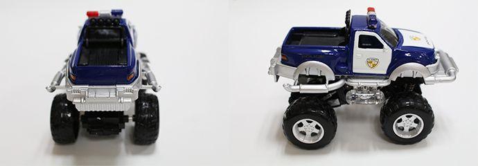藍-FOOD超人有聲迴力越野車