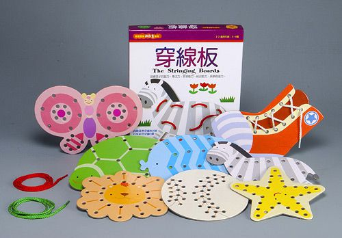 穿線板-創意寶貝遊戲盒