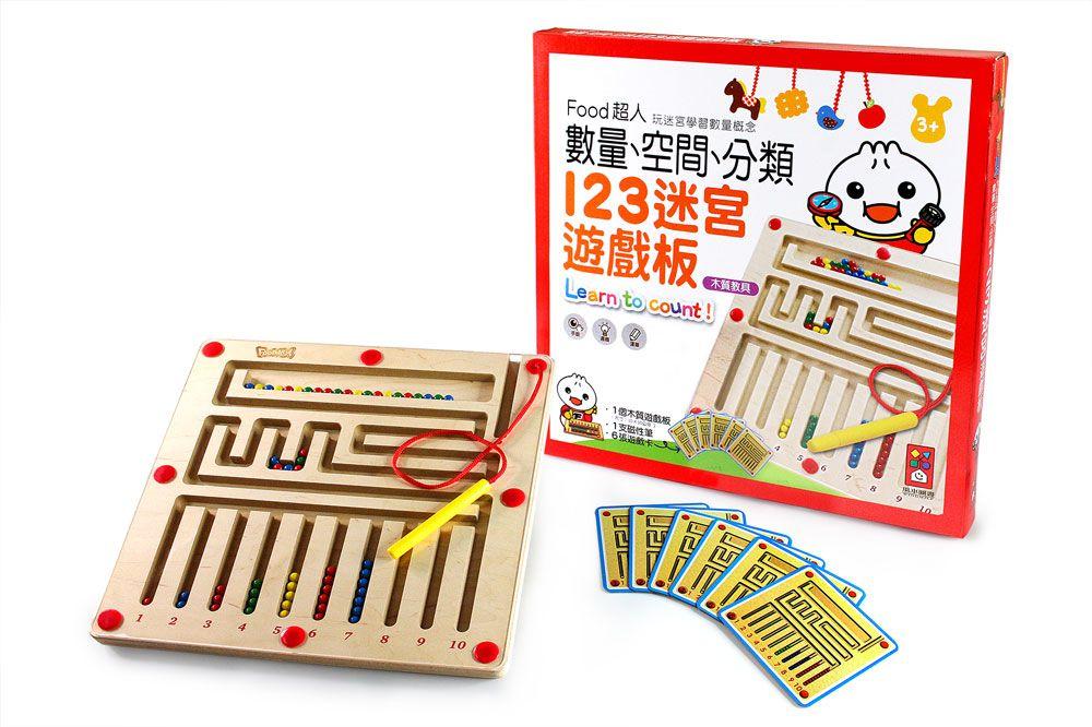 Food超人123迷宮遊戲板