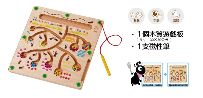 螞蟻搬家數學遊戲板-FOOD超人