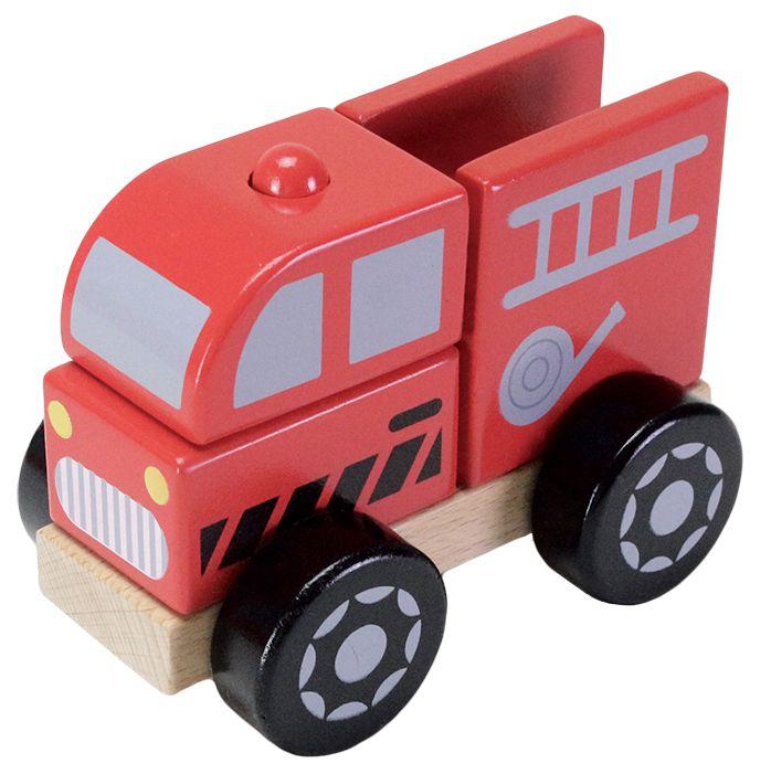 FOOD超人積木消防車