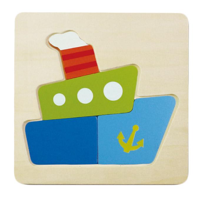 幼幼智力拼板-輪船