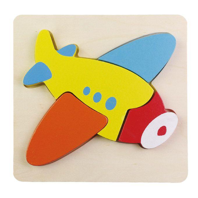 幼幼智力拼板-飛機