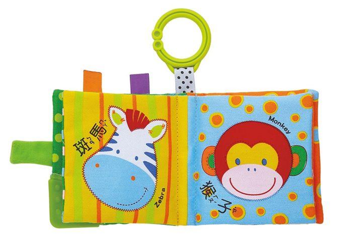動物園-寶寶最愛的磨牙布書