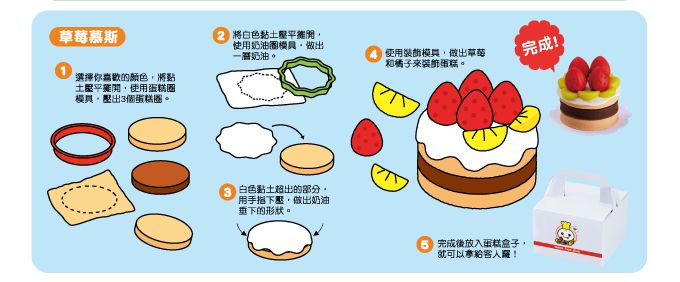 小麥黏土之夢幻蛋糕屋-FOOD超人