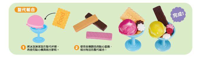 小麥黏土之甜蜜冰淇淋-FOOD超人