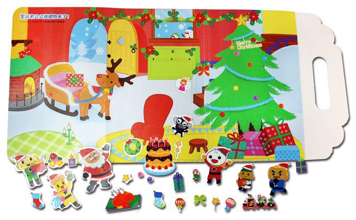 歡樂聖誕隨身貼紙遊戲-FOOD超人