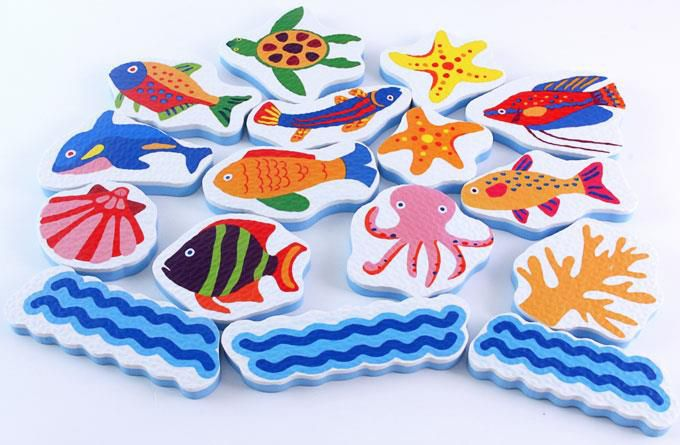 Food超人浴室貼貼樂-海洋世界