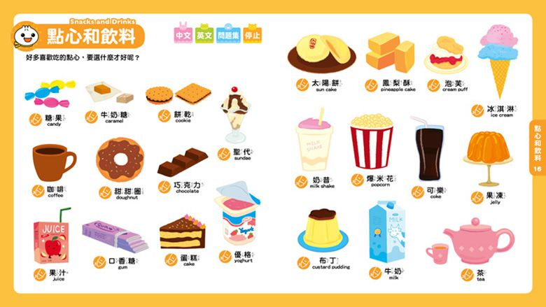 0-6歲Food超人點讀認知圖鑑