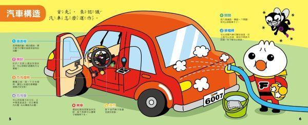 神奇小汽車有聲書-FOOD超人