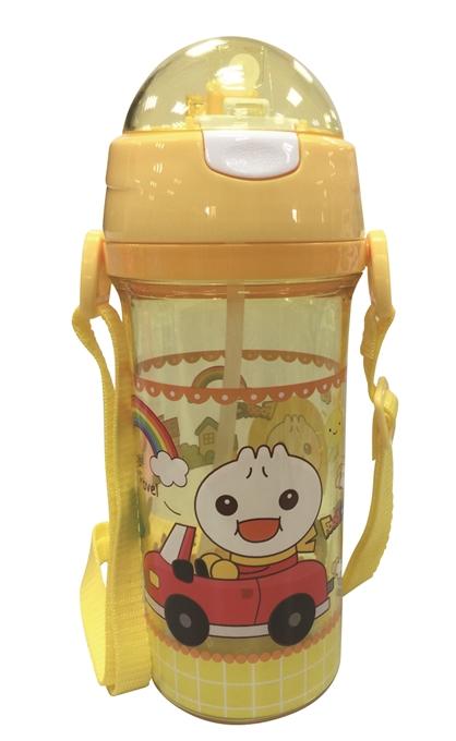 FOOD超人寶寶成長水壺-黃