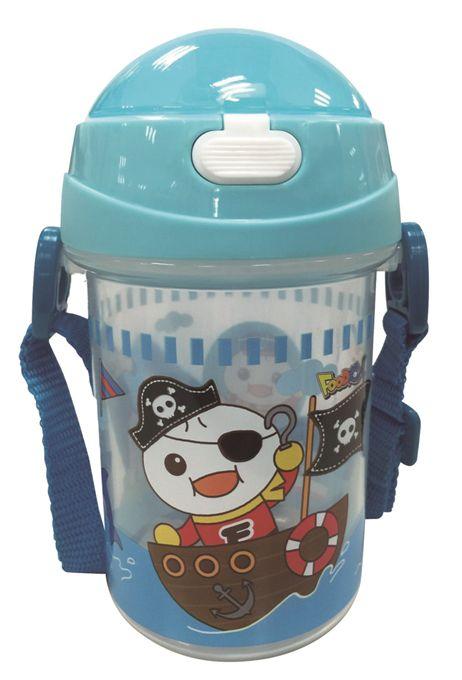 FOOD超人幼兒學習水壺-藍
