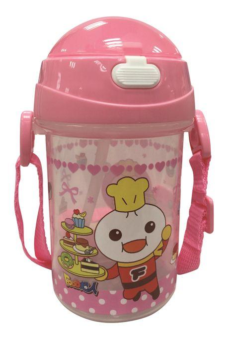 FOOD超人幼兒學習水壺-粉