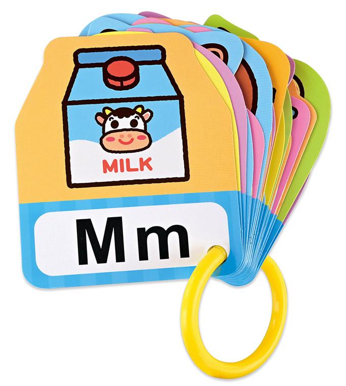 有趣ABC-BABY雙語造型圖卡
