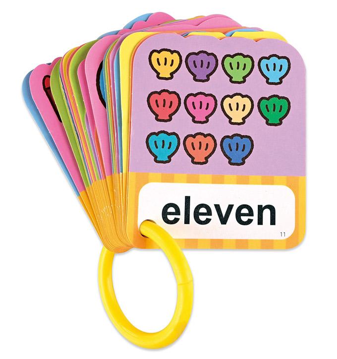 123‧顏色‧形狀-BABY雙語造型圖卡