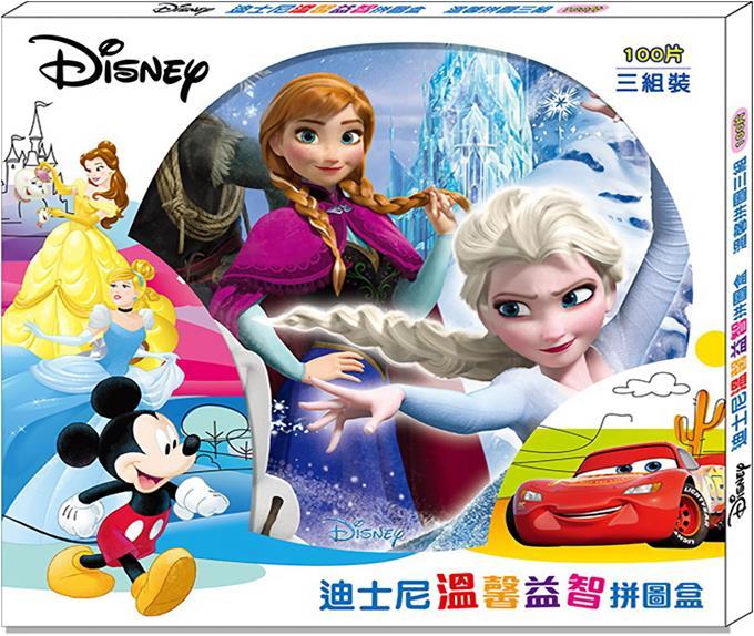 迪士尼溫馨拼益智圖盒(3入)(QZA19)