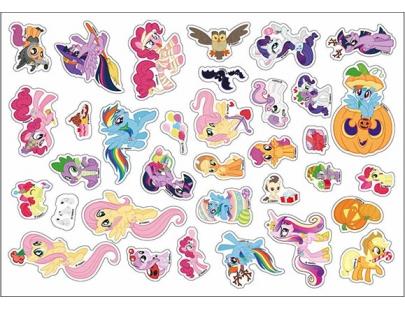 彩虹小馬磁貼遊樂書(MP036A)