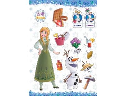冰雪奇緣紙娃娃換裝秀(RB002K)