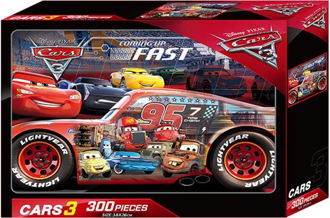 (A)CARS3-300片盒裝拼圖(QFQ40A)