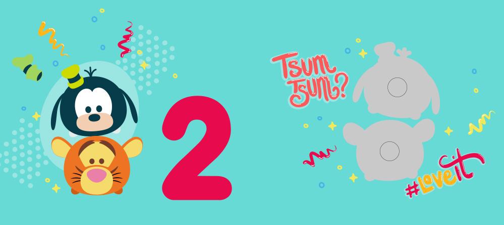 【迪士尼DISNEY-益智教具】撕下黏上,數字1-5 (Tsum Tsum系列)