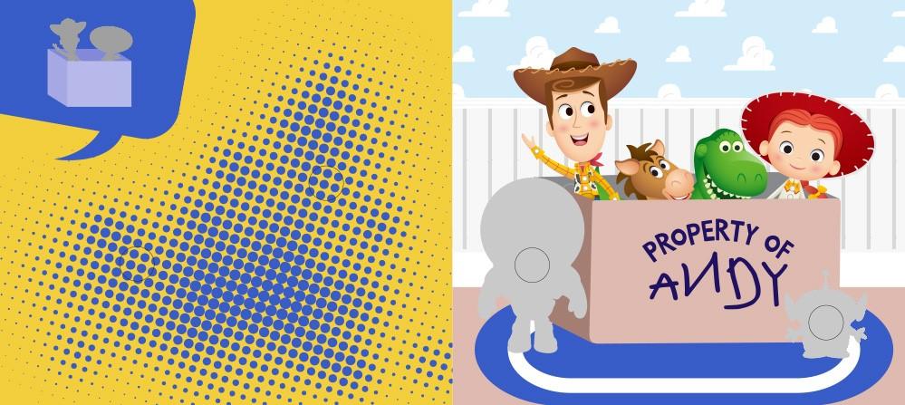 【迪士尼DISNEY-益智教具】撕下黏上,空間邏輯 (玩具總動員系列)