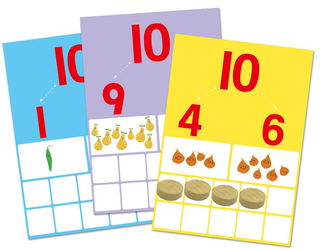 【GBL操作教具】1-10數學學習盒- 6in1