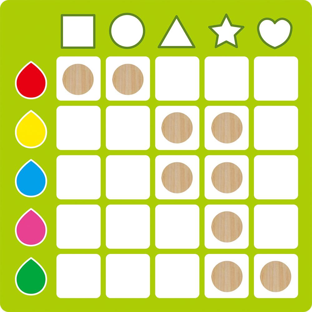 [GBL操作教具] 認知觀察對應--顏色形狀躲貓貓