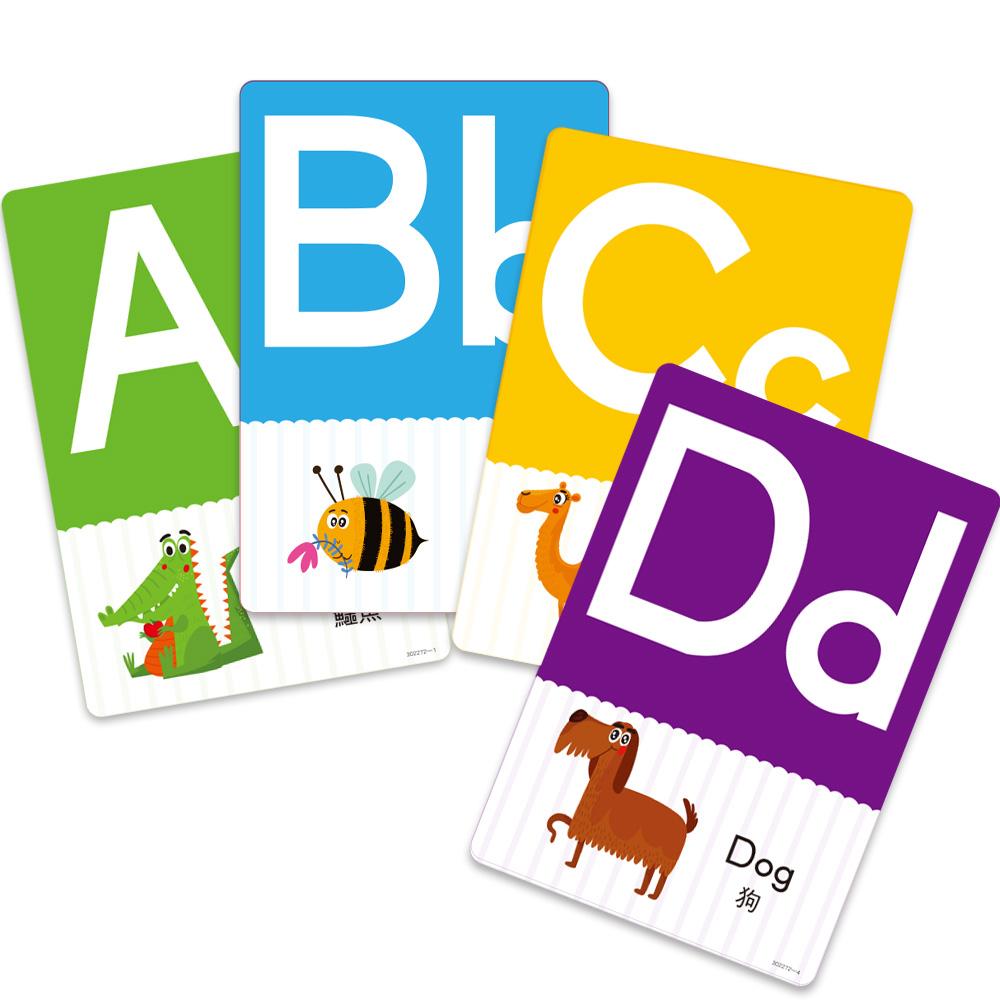 【兒童益智教具】找找看ABC(附加識字卡功能)