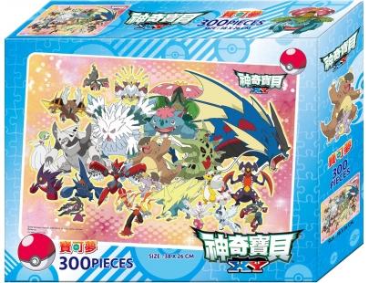 【(B)神奇寶貝XY300片盒裝拼圖(POK13B)