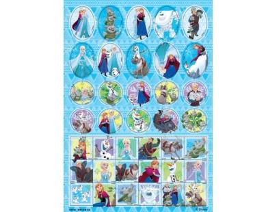 冰雪奇緣愛著色貼畫(RCA08D)