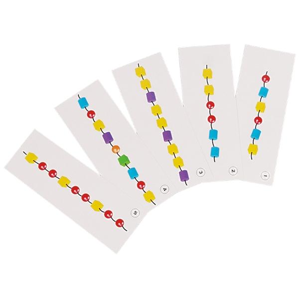 6小珠子(含6條繩子)  #1041- 6P1