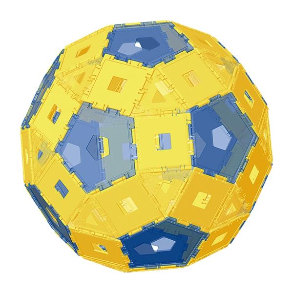 3D幾何板-立體模型組 #1216-CNP3