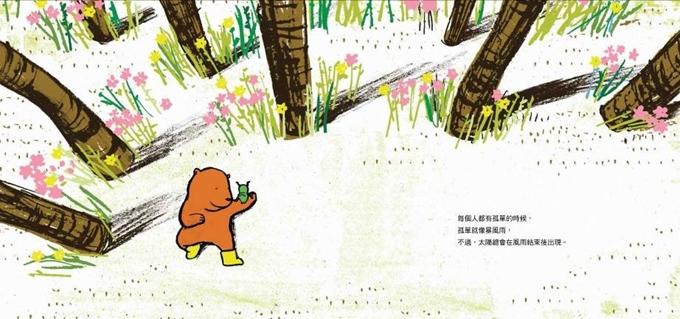 孤單的小熊