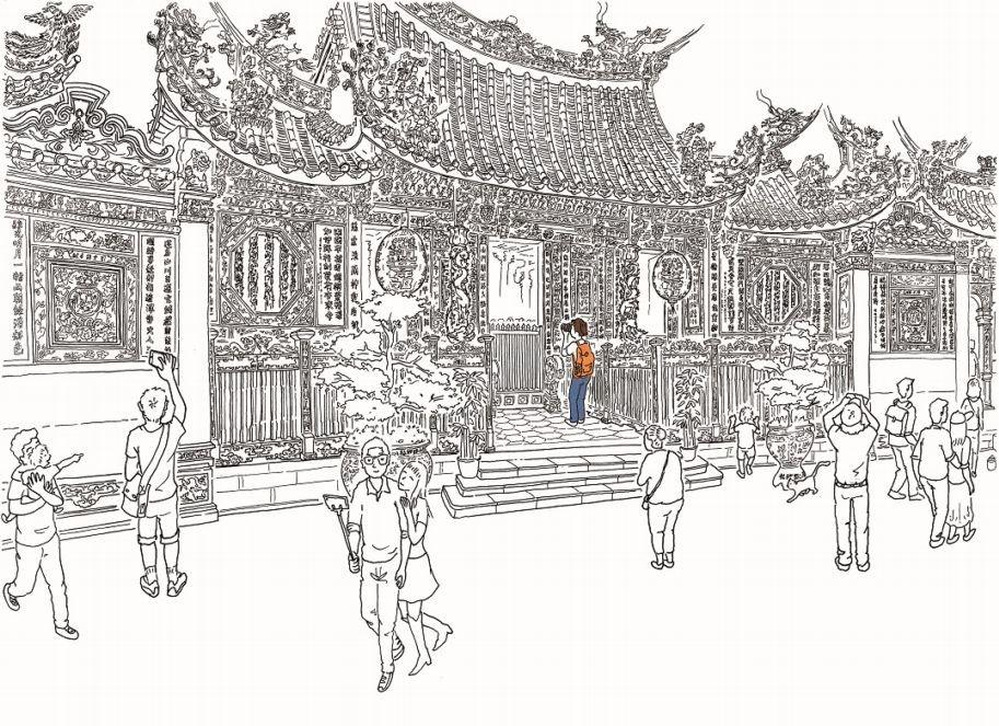 看見龍山寺